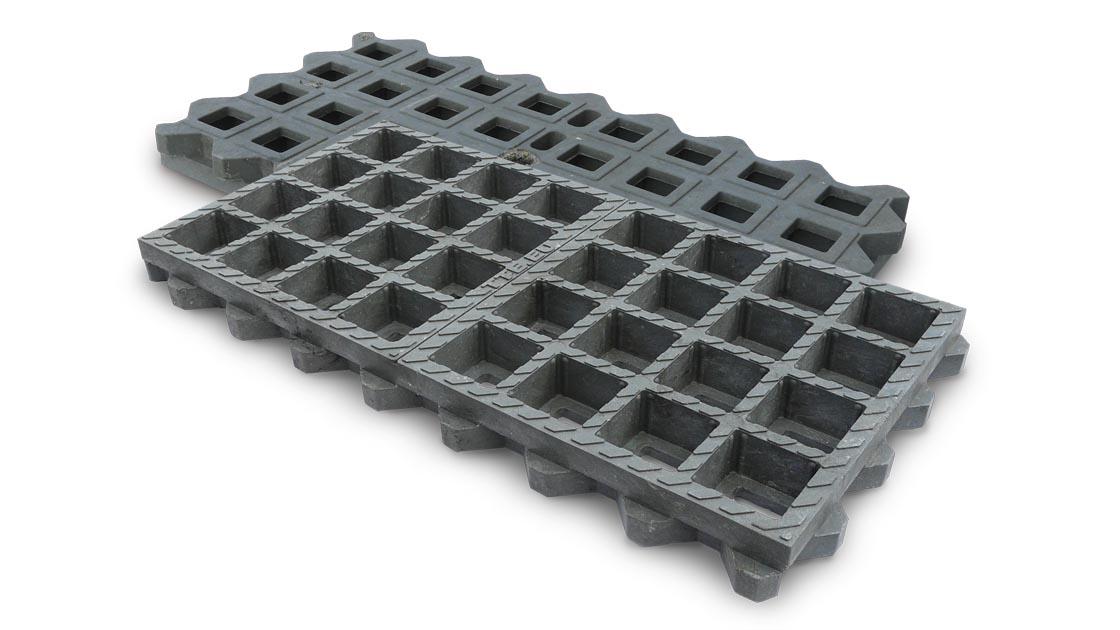 Außergewöhnlich TTE®-Bauweise 1 (Pkw) für begrünte Flächen (Rasengitter) und als &PX_52
