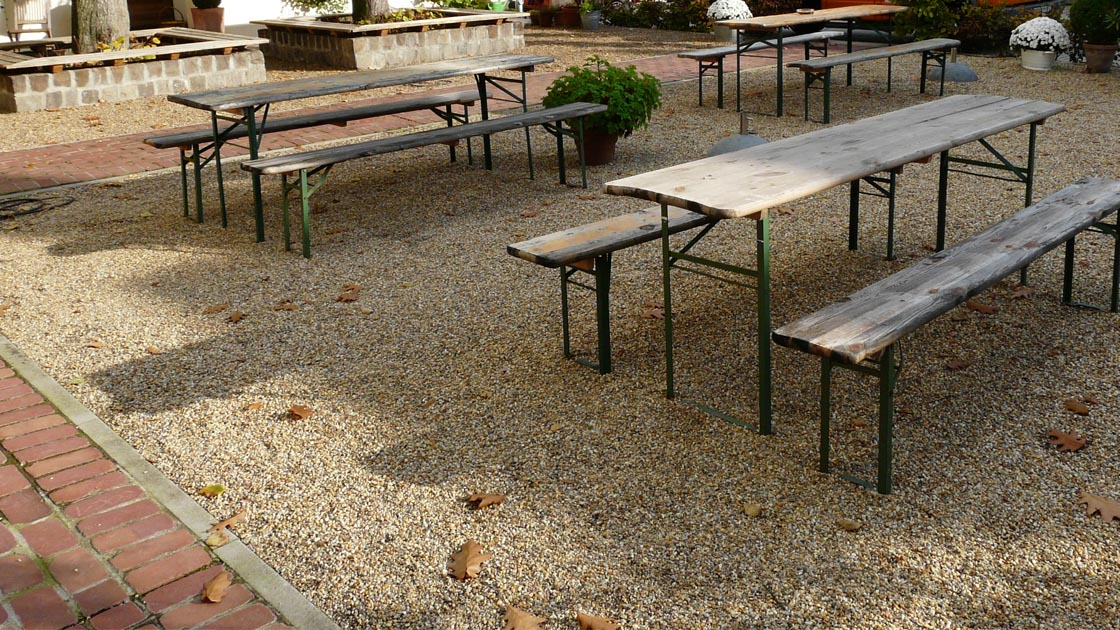 Terrasse Unterbau Schotter : Tragschichtersatz, stabilisierte Tragschicht f u00fcr